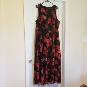 Torrid size 20 maxi dress